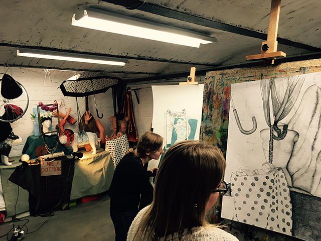 kurs rysunku wrocław nauka rysunku lekcje szkoła rysunku zajęcia plastyczne dzieci