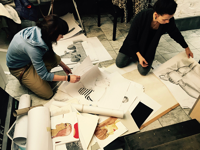kurs rysunku lekcje rysunku nauka rysunku malarstwa zajęcia plastyczne artystyczne dla dzieci szkoła rysunku pracownia otwarta Wrocław asp egzaminy