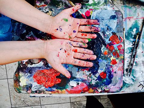 KURS RYSUNKU NAUKA rysunku lekcje Wrocław malarstwo dla dzieci młodzieży zajęcia plastyczne artystyczne hobby pracownia otwarta szkoła rysunku