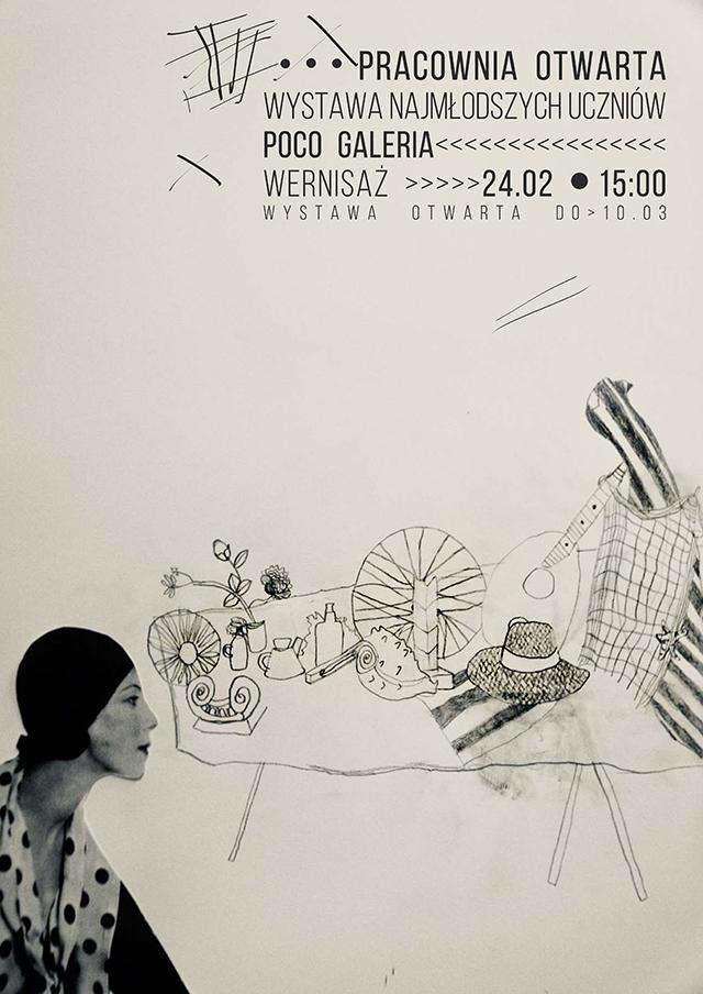 Wernisaż Najmłodszych Uczniów Pracowni Otwartej wystawa dzieci Wrocław zajęcia plastyczne, artystyczne dzieci rysunek malarstwo kurs nauka