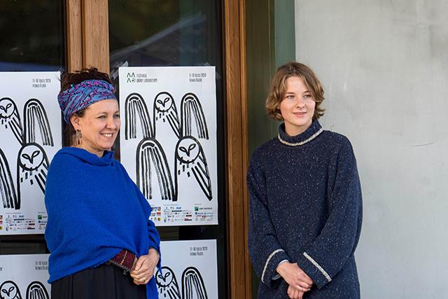 festiwal góry literatury Olga Tokarczuk fundacja Julia Błaszczyk plakat grafika pracownia otwarta asp ilustracja poezja